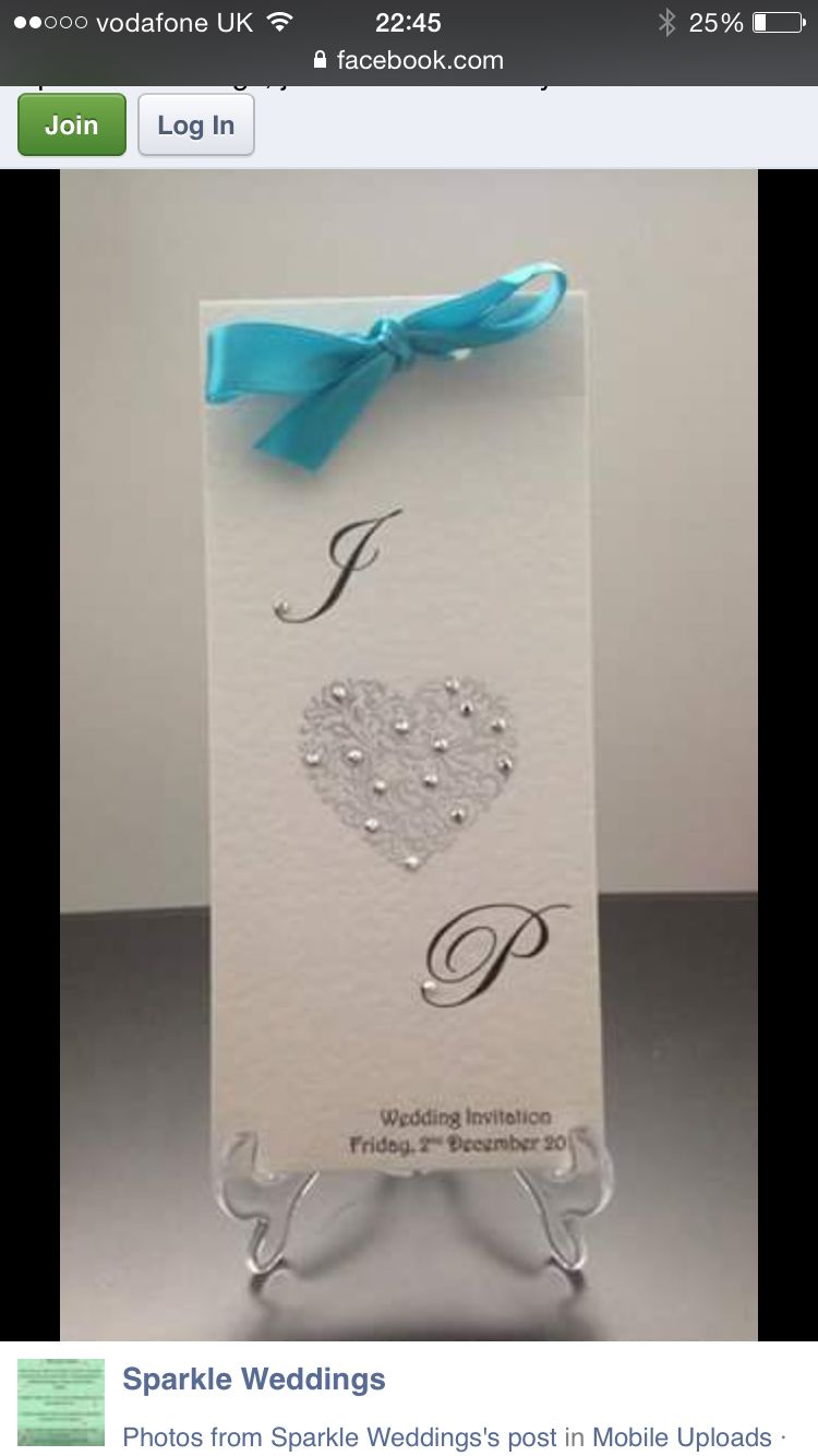 Love this wedding invitation style at :- https://m.facebook.com ...