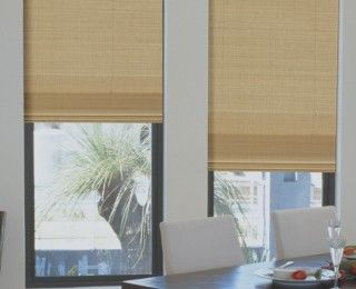 Vista Roman Blinds are a neat, elegant window option available in a selection of contemporary styles to suit any décor. Enjoy a clear view by day, and complete privacy at night. Available in a number of different styles and trims.