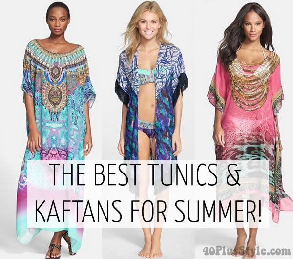 3f79e475cbfef The best tunics and kaftans for the beach | 40plusstyle.com ...