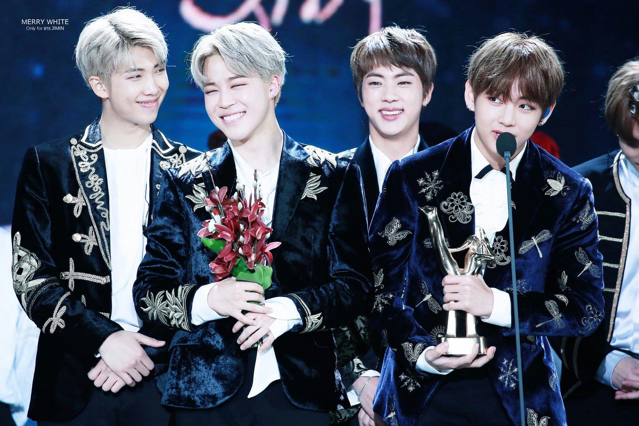 BTS V's Speech @The 31st Golden Disc Awards