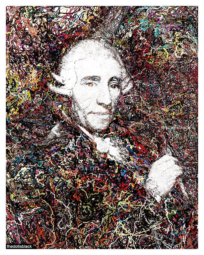 Franz Joseph Haydn Generative Portrait