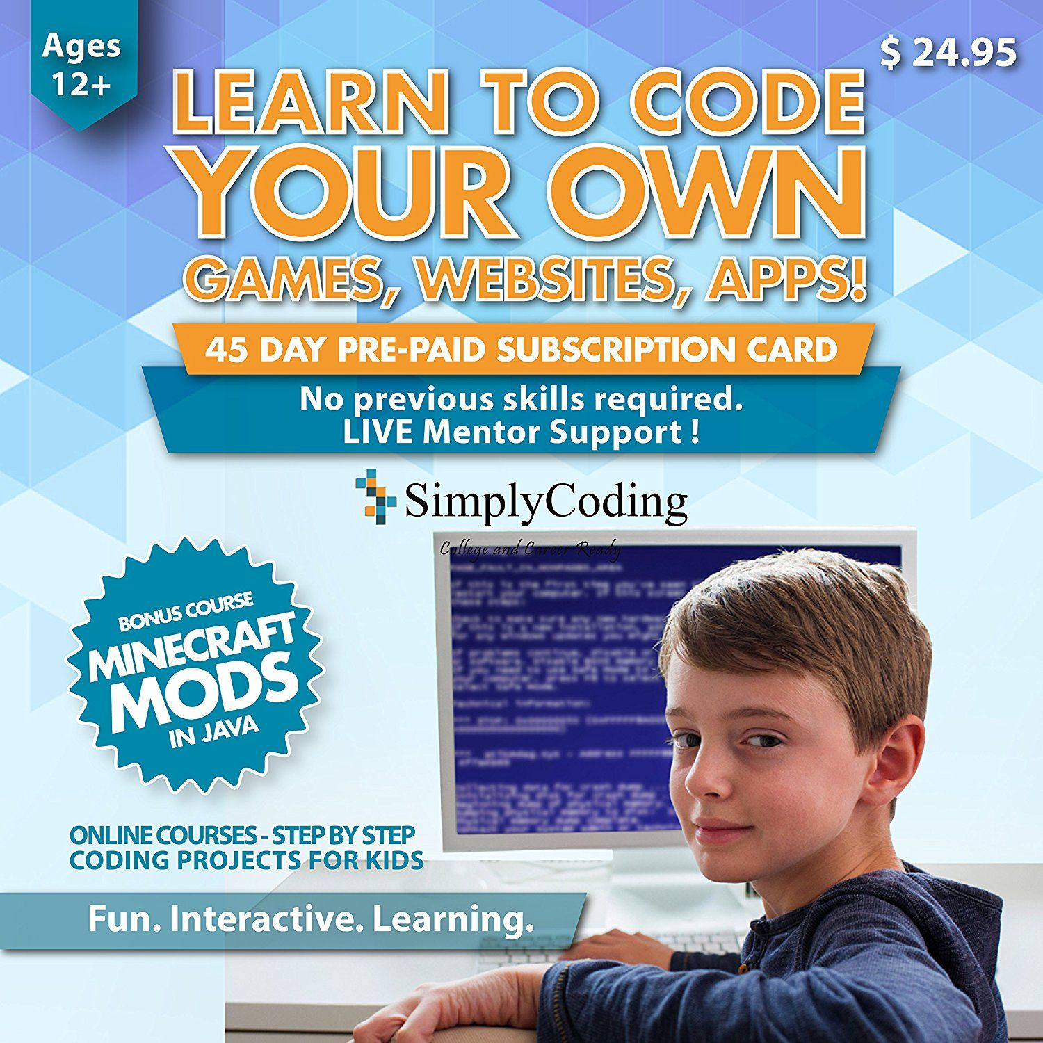 Simply Coding for Kids Learn to Code Program Computer