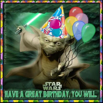 Freebie Star Wars Themed Birthday Card Fronts Star Wars Happy