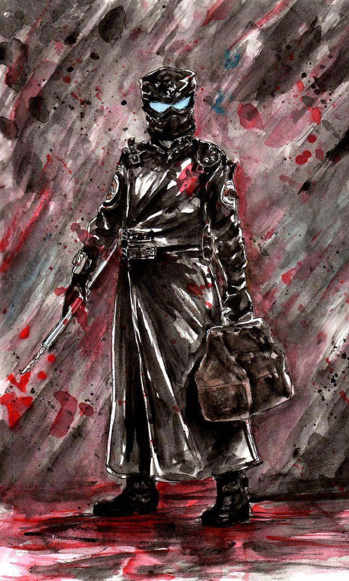 Repo Man By Sildesalaten Repo Man Repo The Genetic Opera Horror Art