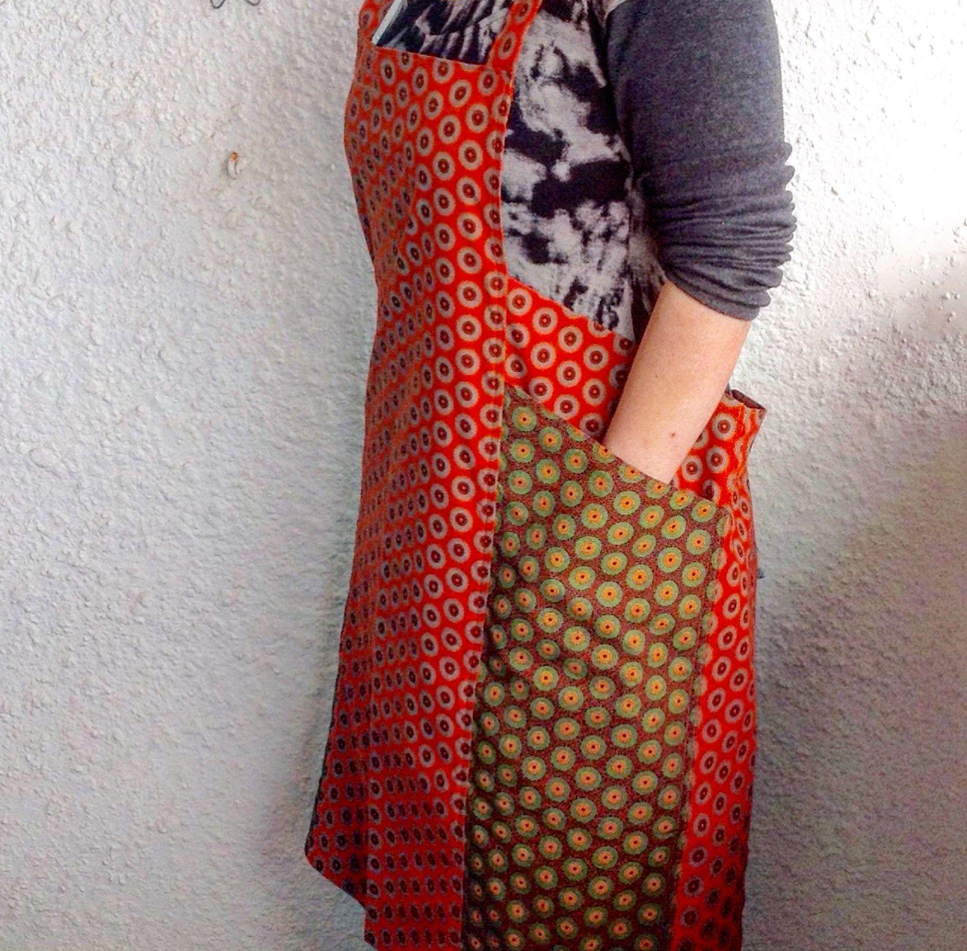 Shweshwe coverall pinafore fashion sewing womens fashion