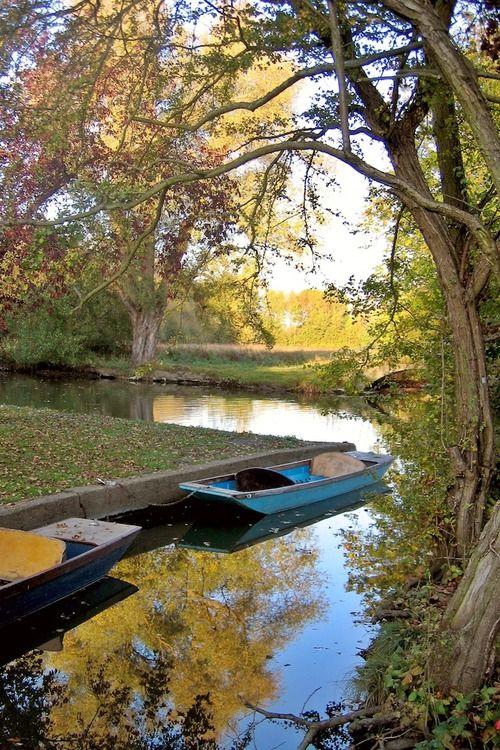 autumn colors, Oxford, England