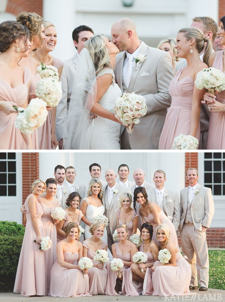 Color Palette Light Pink Dresses Tan Khaki Colored Tu Fathers Will Wear Black Moms Taupe Or Champagne