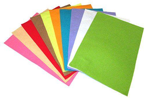 Basteln - Bastelfilz - 10 verschiedene Farbtöne - ca. 2mm... https://www.amazon.de/dp/B01N5IC57Y/ref=cm_sw_r_pi_dp_x_10cyybG94EACE