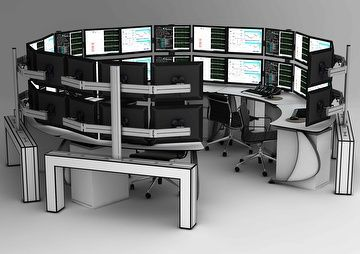 Multi monitor trading systems