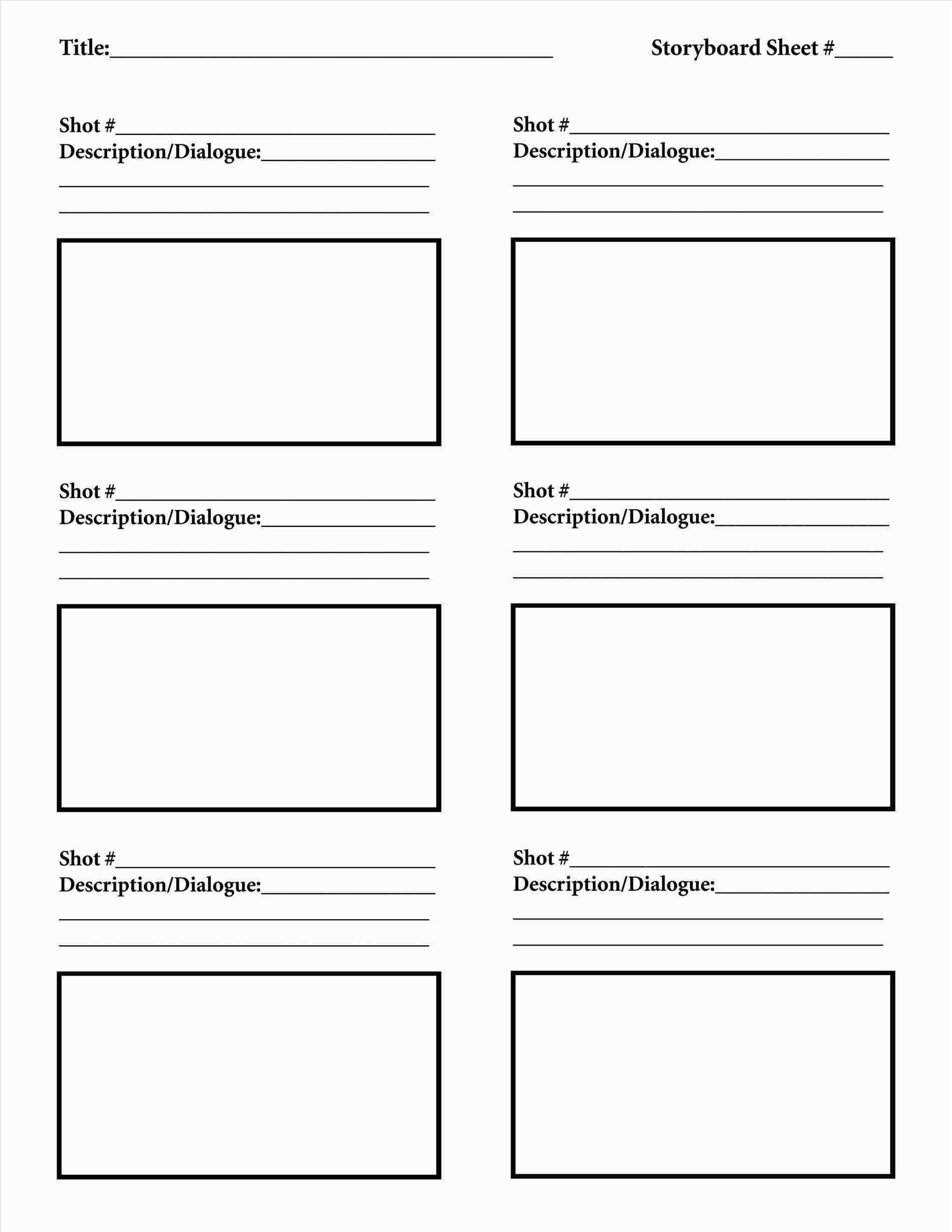 Storyboard Template For Powerpoint Free Tamplate Pinterest
