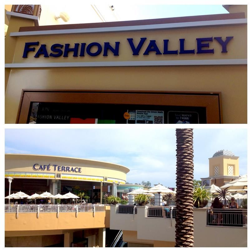 Spend Your Day Exploring Fashion Valley Mall Featuring 200