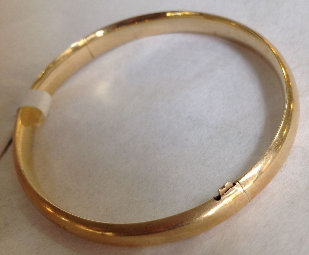 K yellow gold bangle bracelet shf pinterest gold bangles