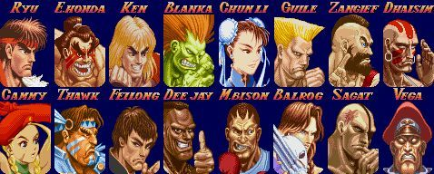 Image Result For Street Fighter Characters Street Fighter Original Street Fighter Characters Street Fighter 1
