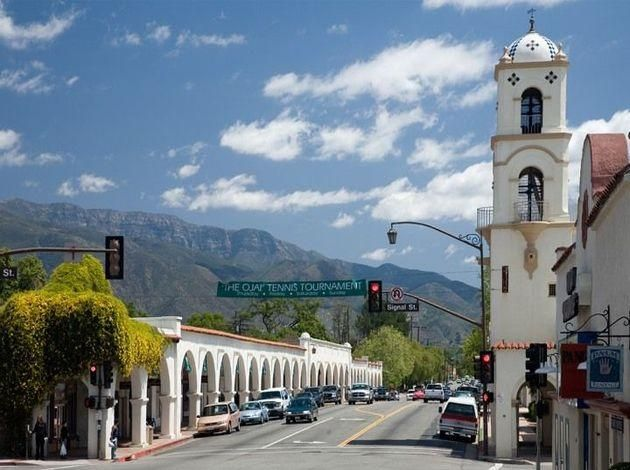 Best Small Towns In California Small Towns In California Ojai