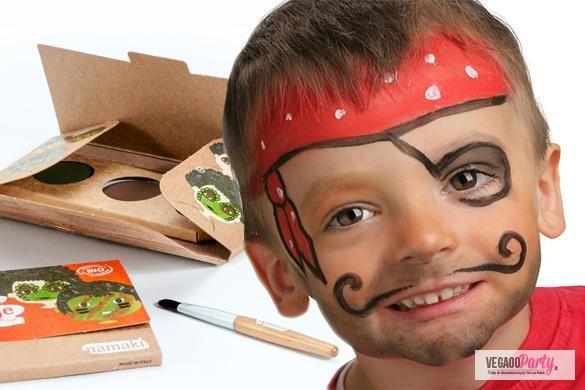 Realizza il make up da pirata perfetto