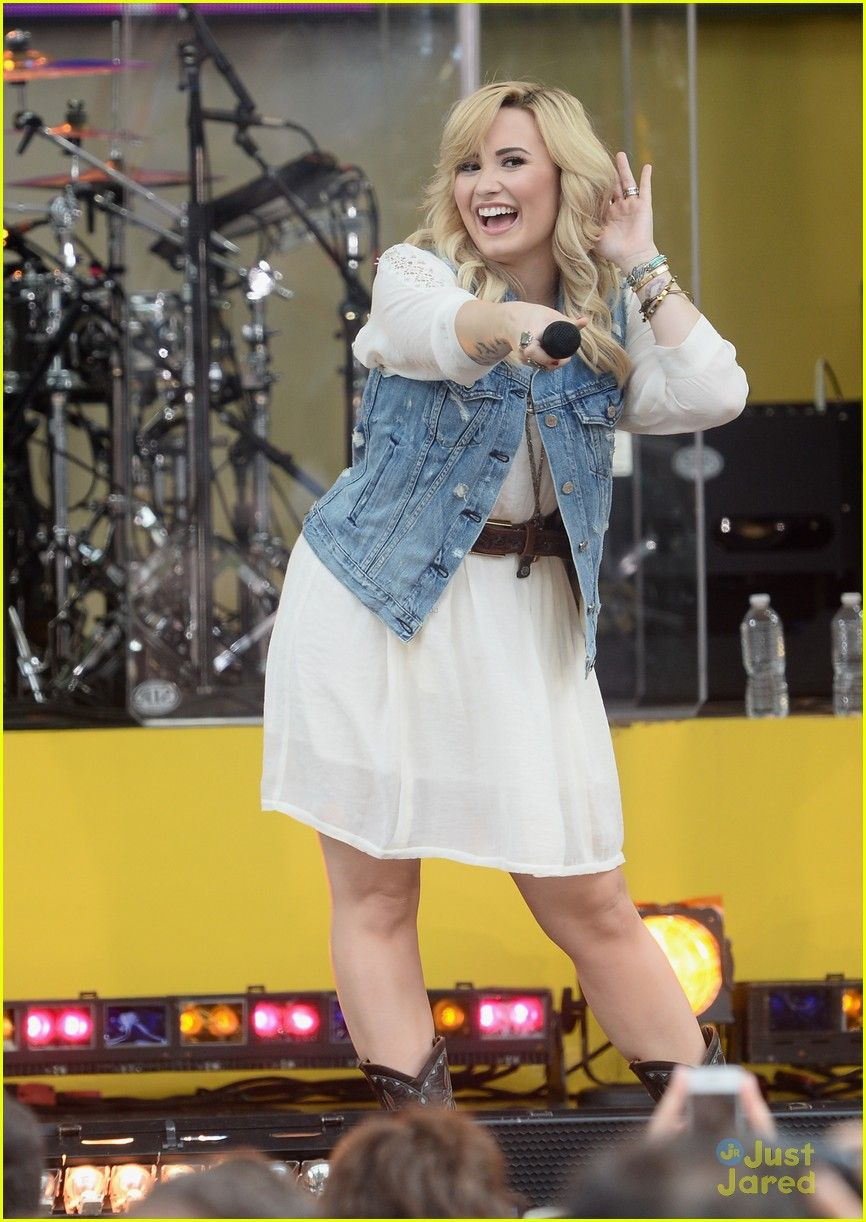 Demi Lovato Sings Her Hits on 'GMA'! | demi lovato good morning america summer concert performer 08 - Photo