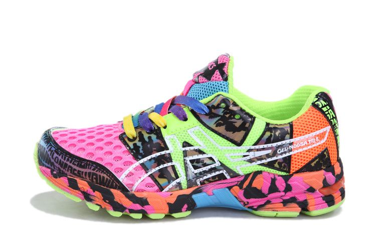 b2311044 Womens Asics Gel Noosa Tri 8 Running Shoes Pink Lime ...