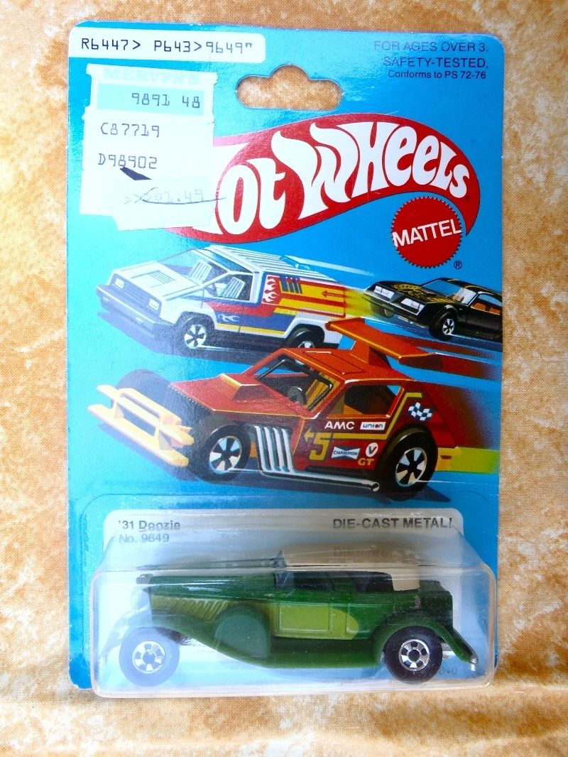 vintage Mattel Hot Wheels Die Cast Metal '31 Doozie