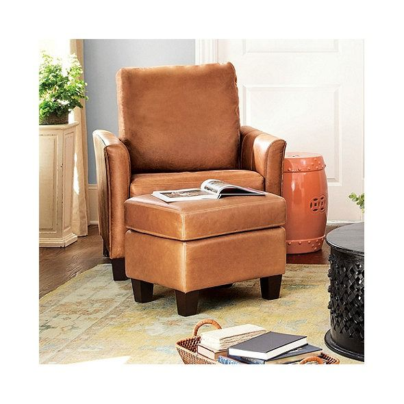 Amazing Layla Leather Chair Ottoman Living Room Ideas Chair Short Links Chair Design For Home Short Linksinfo