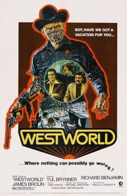 Westworld (1973) movie #poster, #tshirt, #mousepad, #movieposters2