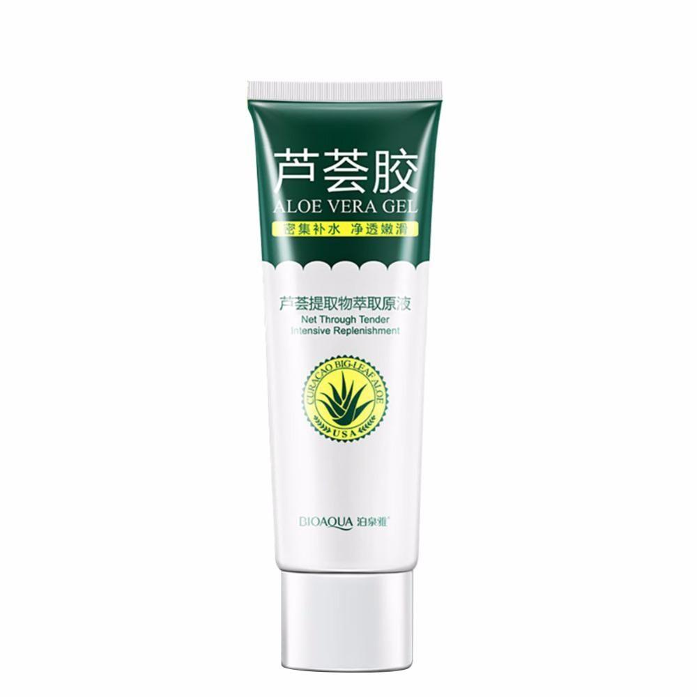 Aloe Vera Gel Skin Care Brand Bioaqua Face Cream Hyaluronic Acid Aloevera Anti Winkle Whitening Moisturizing Acne