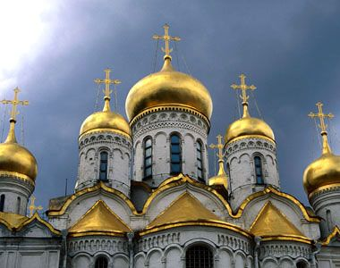 Annunciation Cathedral (Благовещенский собор) of the Moscow Kremlin