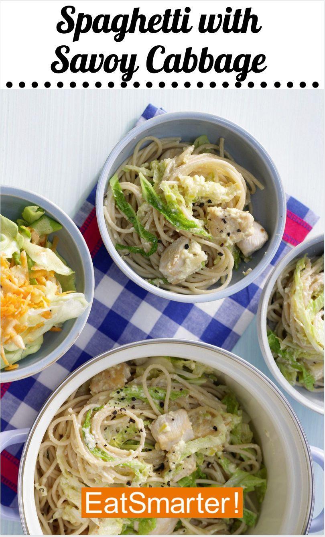 Spaghetti With Savoy Cabbage Recipe In 2020 Recipes Cabbage Recipes Pasta Recipes