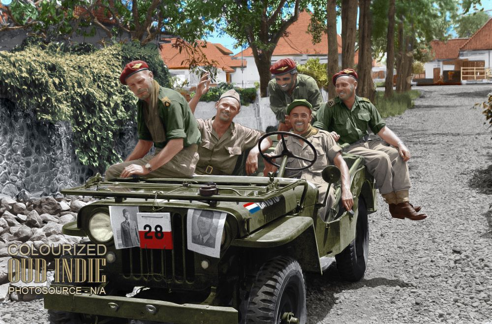 Yogyakarta Desember 1948 Di 2021 Militer Belanda Tentara