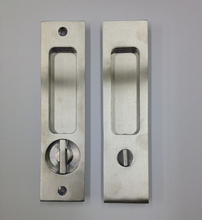 Linnea PL 160S Square Privacy Door Lock Straight Turn Piece 1 3 8 D