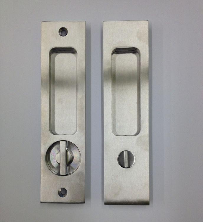 Linnea Pl 160s Square Privacy Pocket Door Lock Pocket Doors