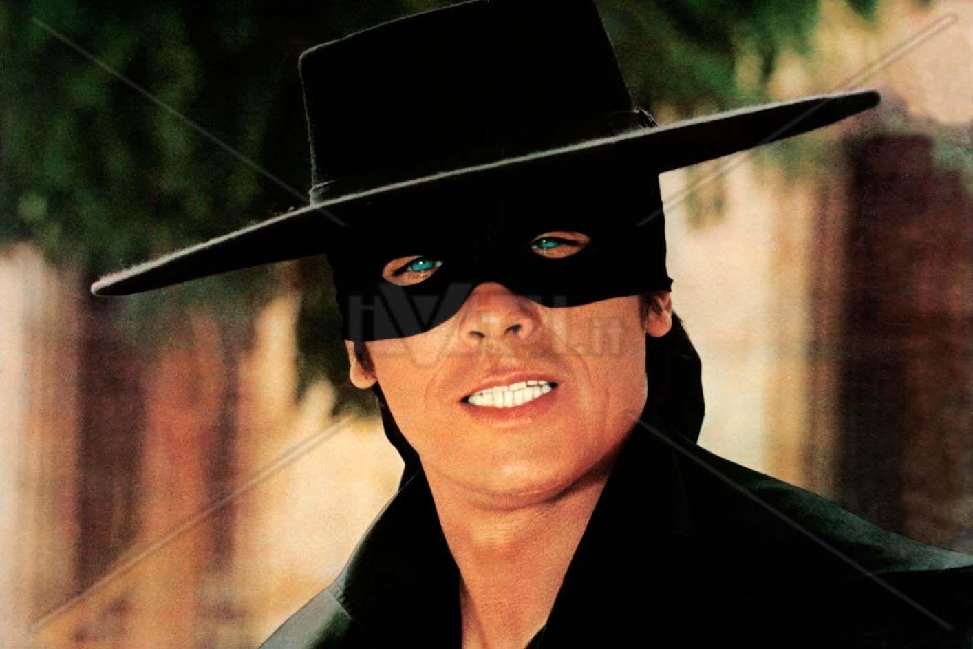 Perfect Zorro Bigotes Y Sombreros Afiche De Pelicula