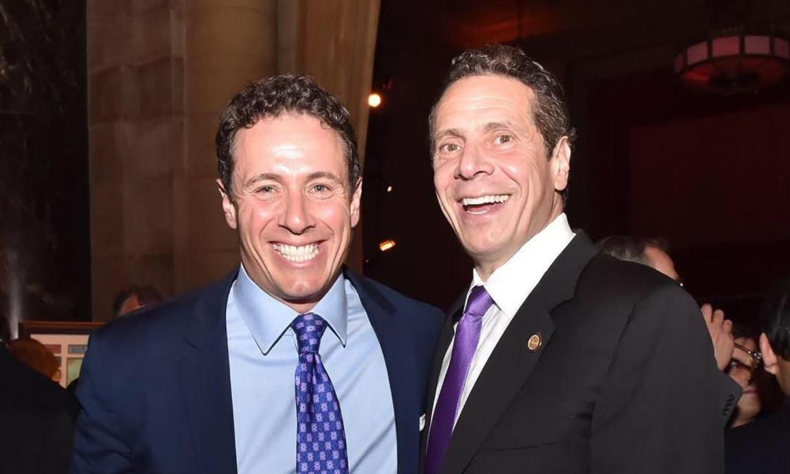 Governor Andrew Cuomo And Chris Cuomo S Epic Relationship And Banter En 2020