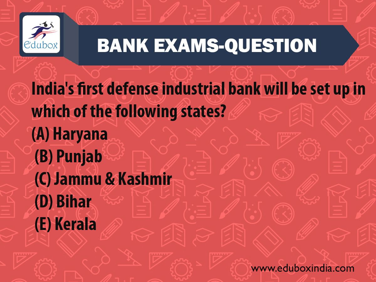 Easy Questions For Bank Examinations
