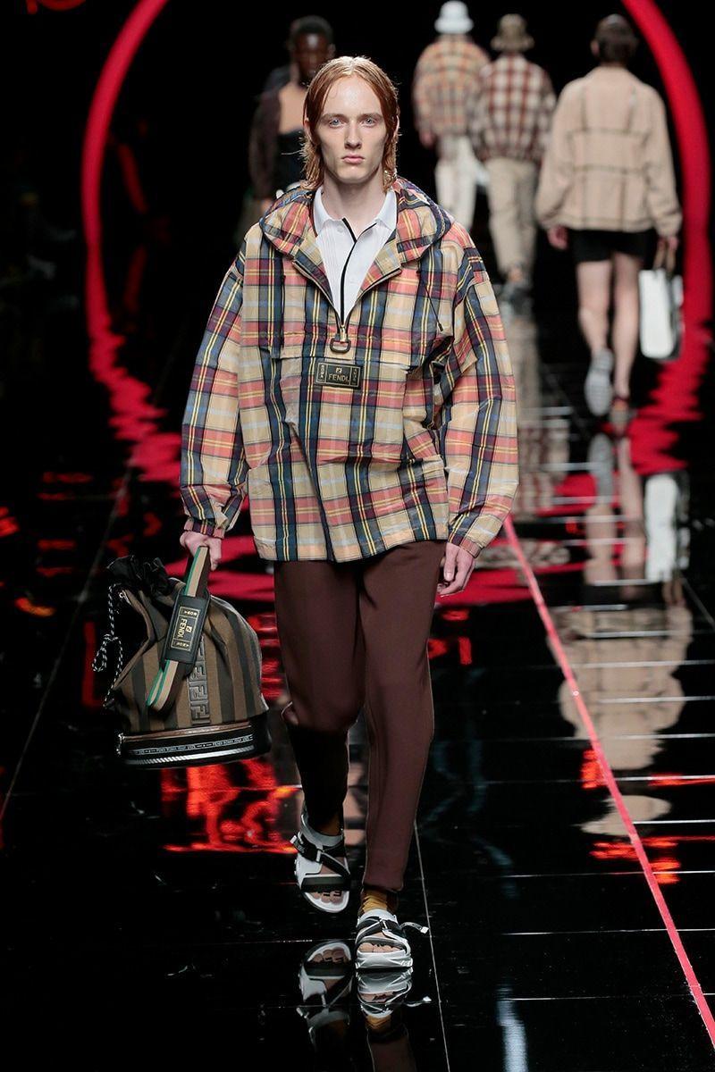 33800456ac08 Fendi Spring Summer 2019 Menswear Collection ‹ Fashion Trendsetter