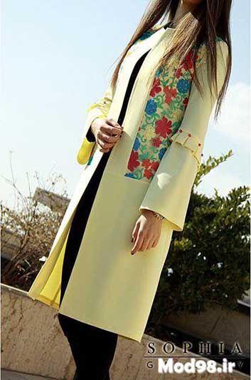 عکس مدل مانتو مجلسی دخترانه