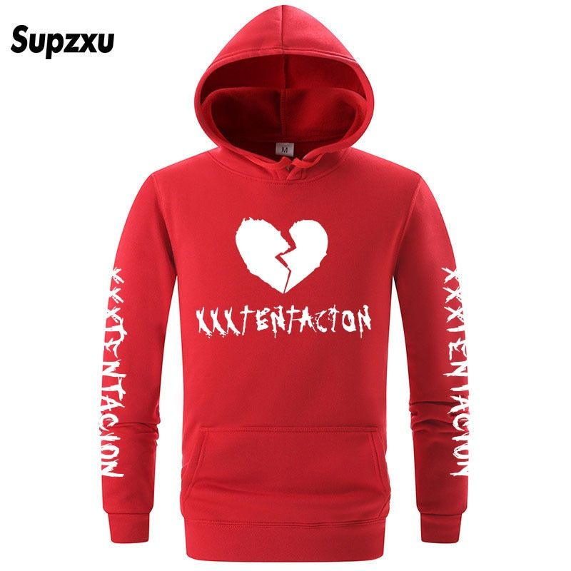 Supzxu Fashion Rap Rapper Hoodies Men Women Casual Hip Hop XXXTentacion  Sweatshirt Vibes Forever Traksuit Fleece Pullover Hoody babdd02041