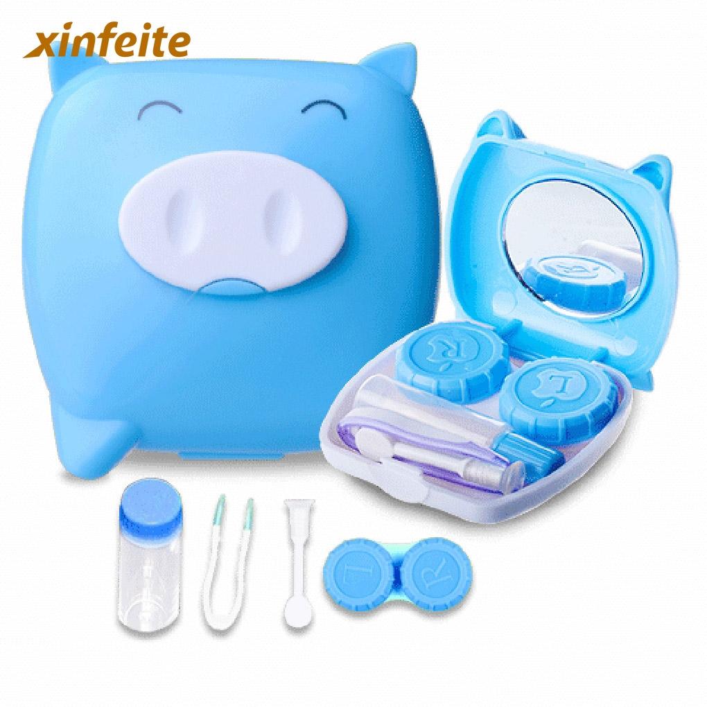 0.89 Buy here 4 color ABS Clean Cute Unisex Pig Cartoon