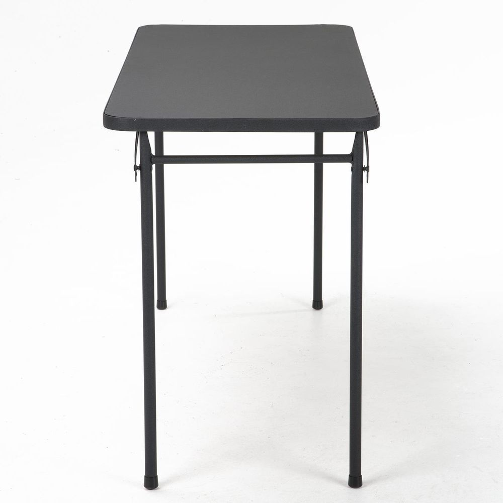 Table Hobby Craft Work Folding Legs Tables 4 Foot Portable Lightweight Black Cosco Folding Table Outdoor Table Tops Cosco
