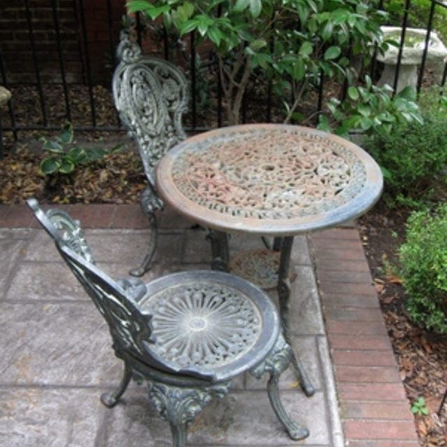 How To Fix Wrought Iron Patio Furniture
