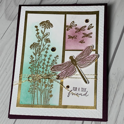 Stampin' Up! Dragonfly Garden Stamp Set-- Another