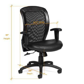 Used Computer Chairs Disposable Folding Chair Covers Bulk Most Comfortable 5 Way Adjustable Office