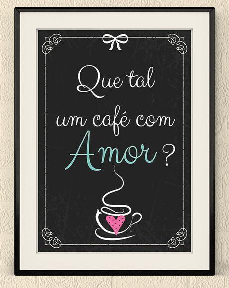 Quadro Amor Frases Para Cozinha Pinterest Frases Cafeteria Y Cafe