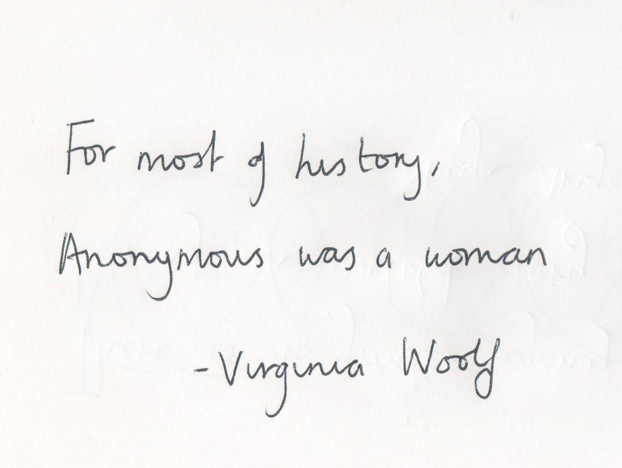 virginia woolf feminist works