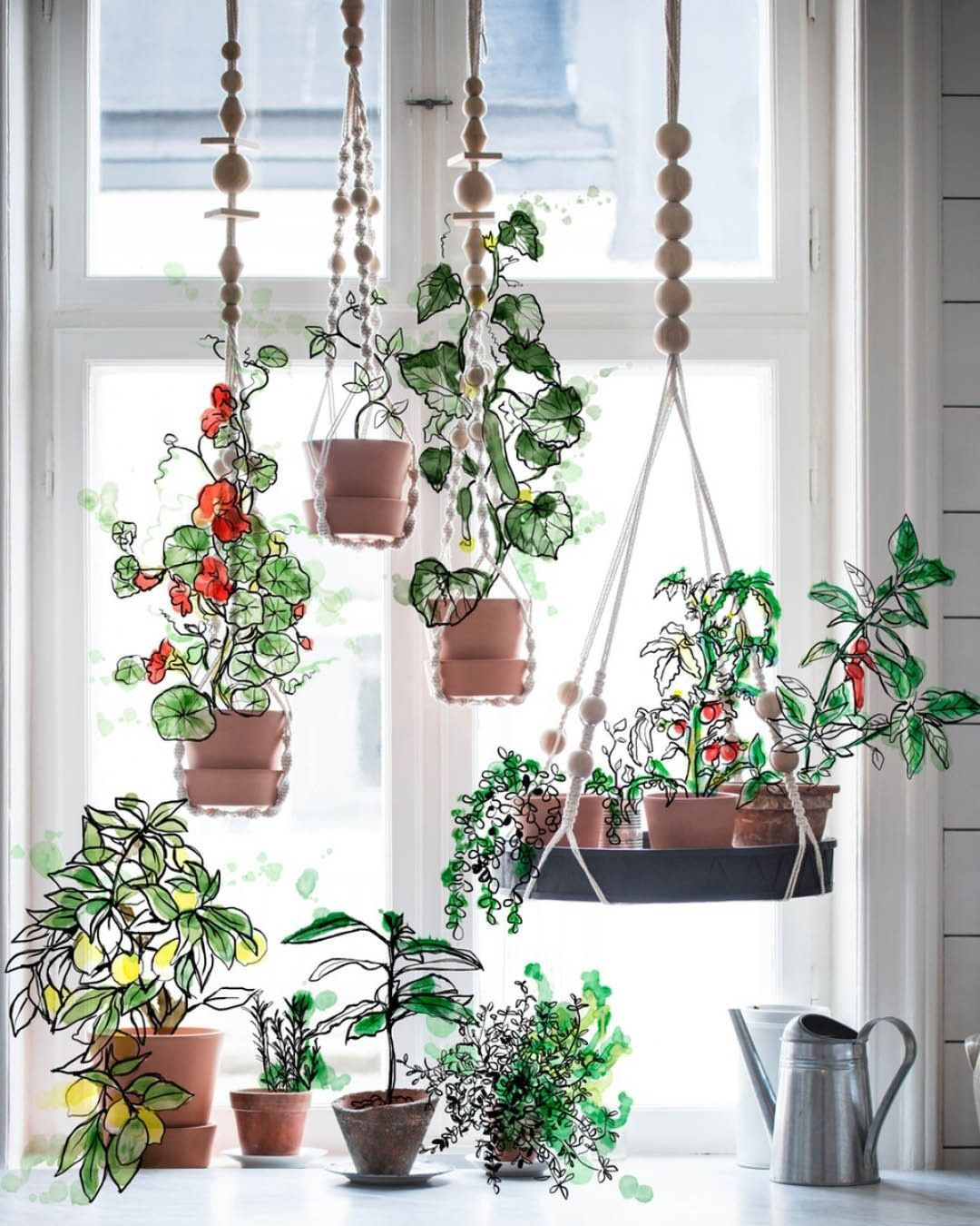 """IKEA Australia on Instagram """"Hang your plants with the"""