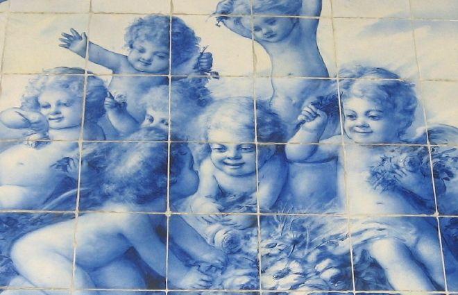 Azulejo português / anjos