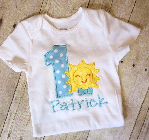 You are my sunshine first birthday boys outfit 1st birthday sun