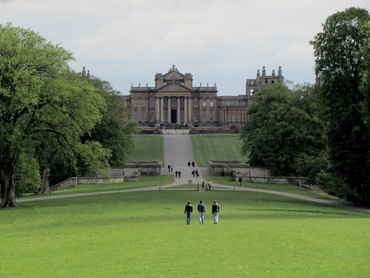 Image result for blenheim palace garden
