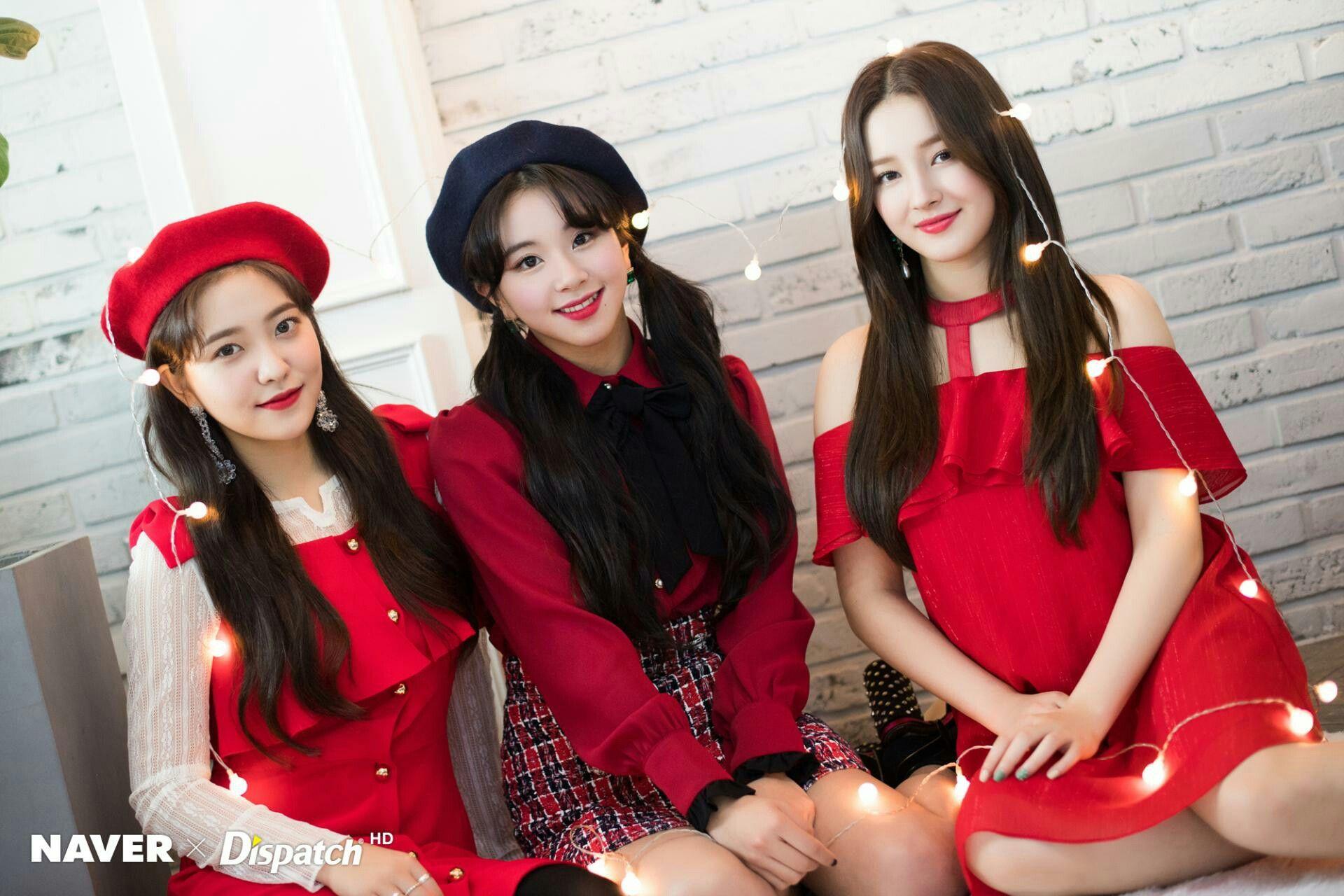 Dispatch Maknae S Christmas Party Chaeyoung Yeri Nancy Twicevelvetland Kpop Girls Lady In Red Girl
