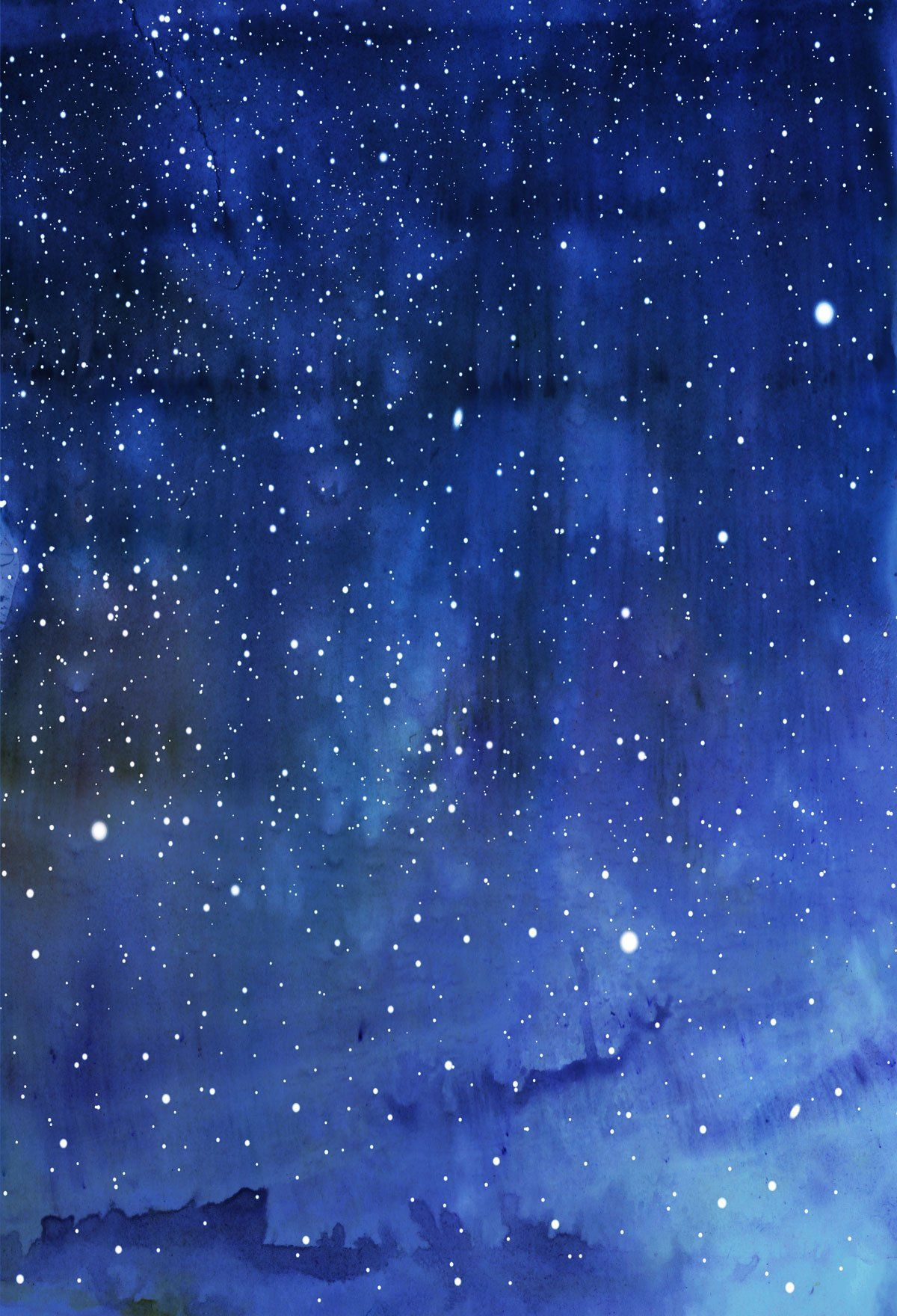 Kate Blue Cloud Backdrop Night Sky Background for Photos