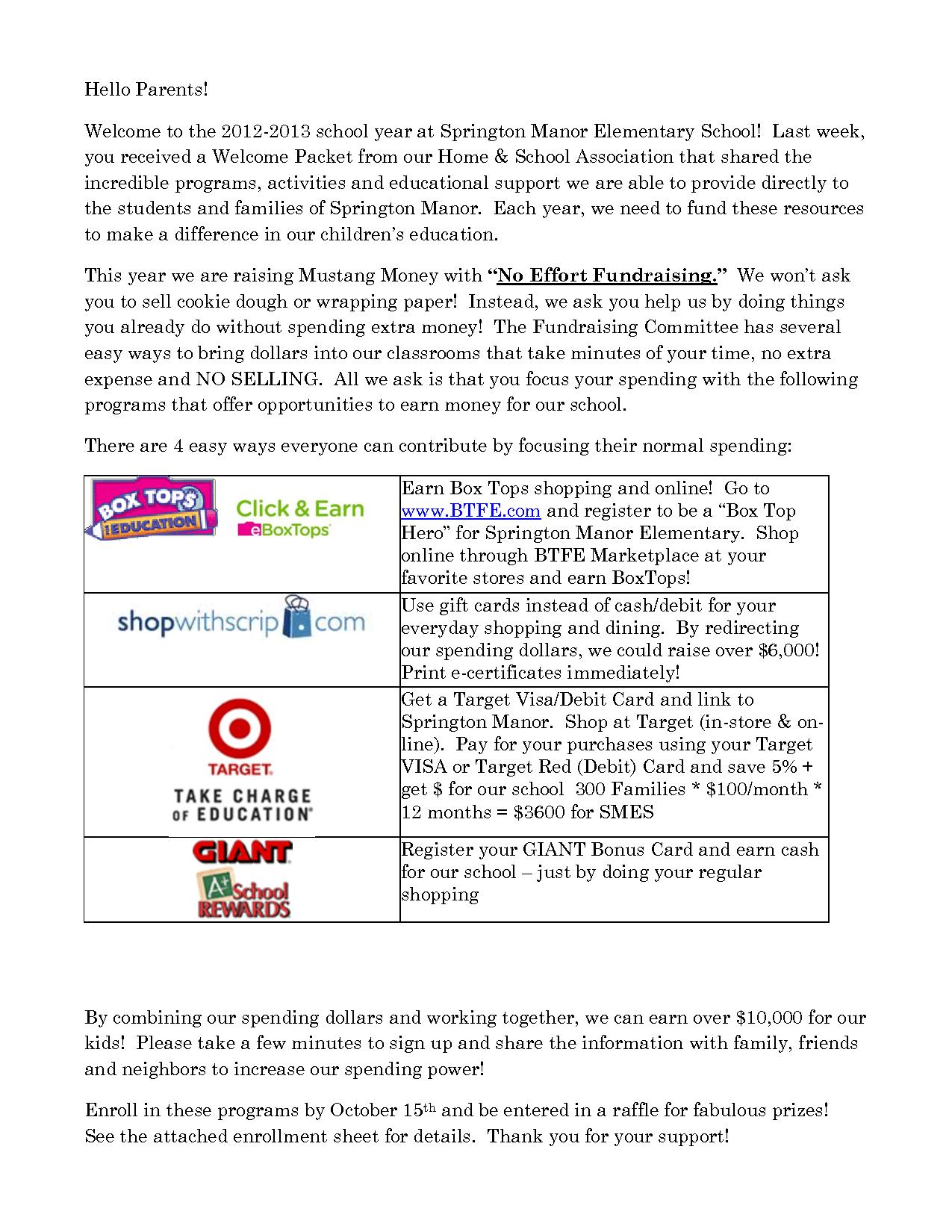 No Effort Fundraising Kickoff Letter by pengxuebo | PTO